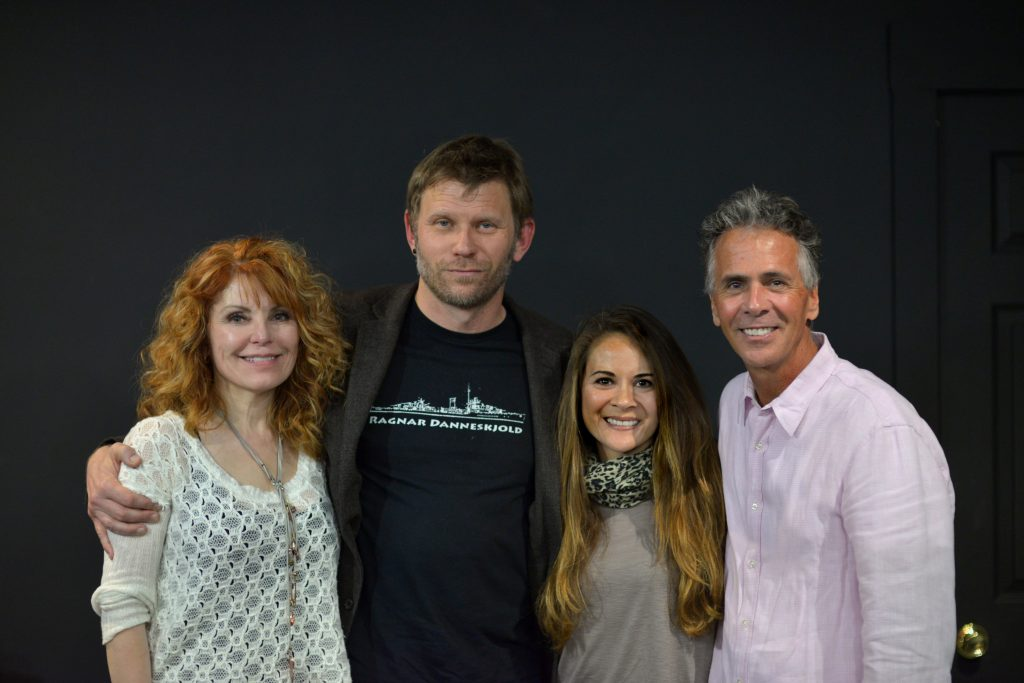 Photograph of Tracy Pellegrino, Mark Pellegrino, Melissa Thompson Esaia, and Jim Jarrett