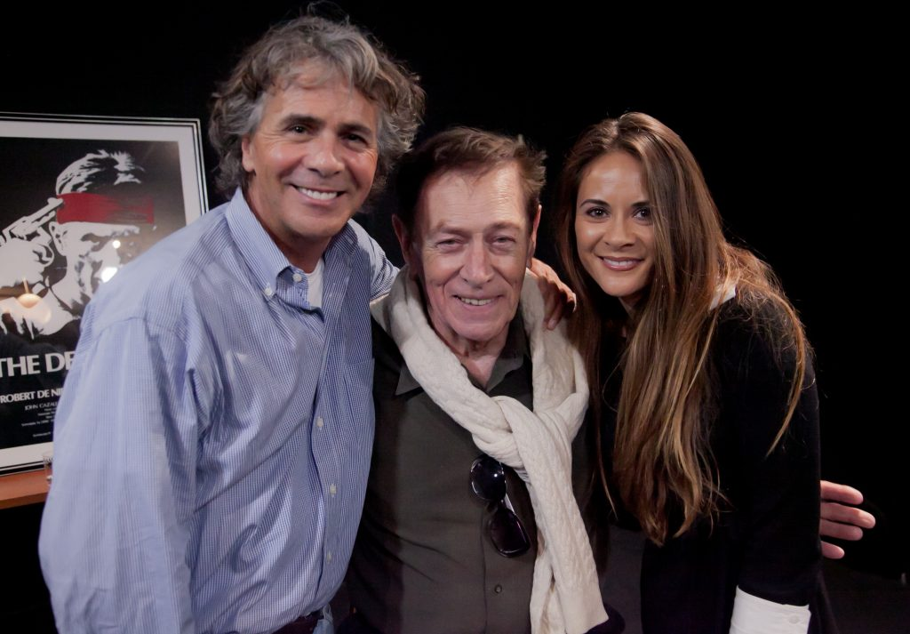 Photograph of Jim Jarrett, Quinn Redeker, and Melissa Thompson Esaia