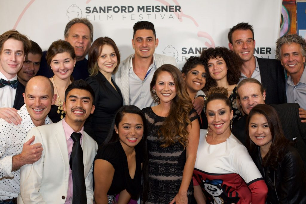 Students on the Red Carpet at the Sanford Meisner Film Festival