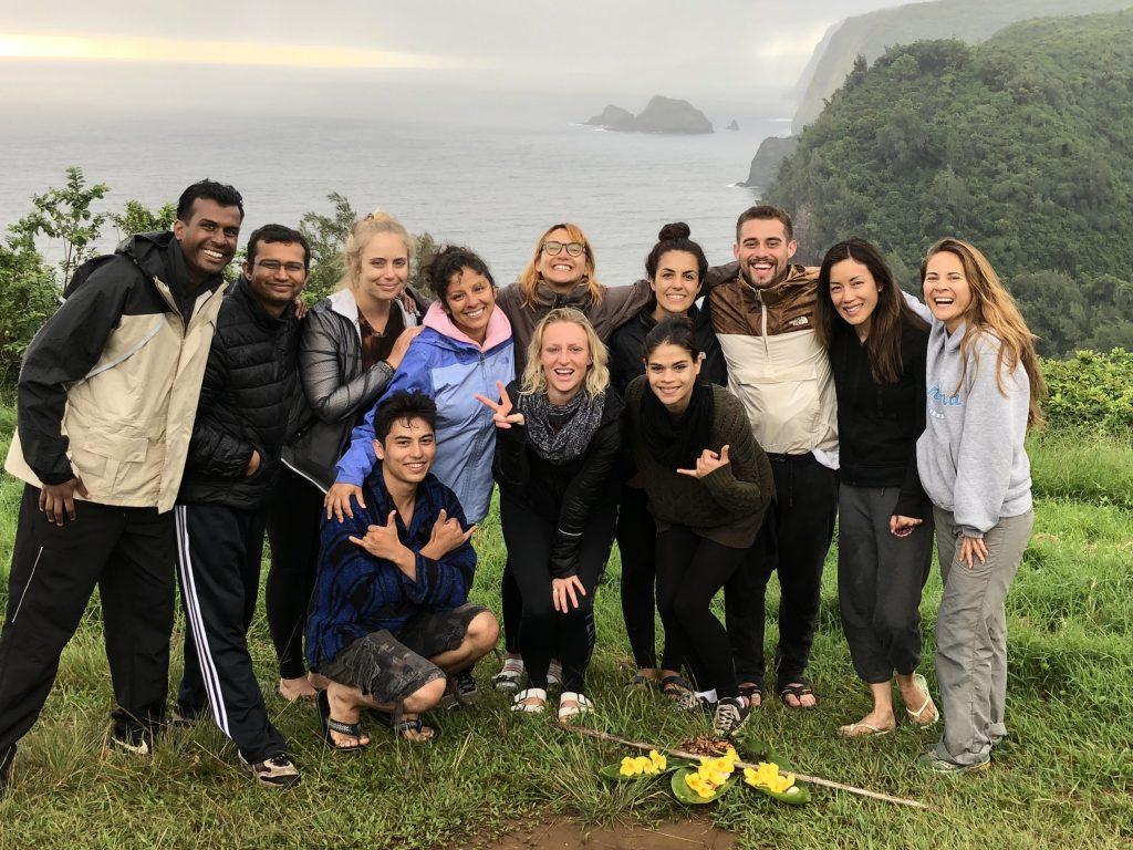Students on the Meisner Technique Studio Actors Intensive Retreat in Hawaii