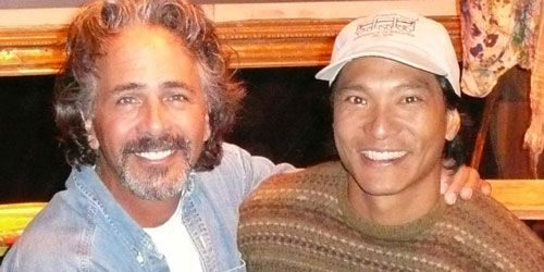 Photograph of Jim Jarrett and Jason Scott Lee