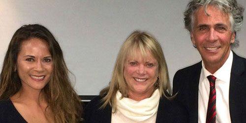 Photo of Melissa Thompson Esaia, Nancy Hayes, and Jim Jarrett
