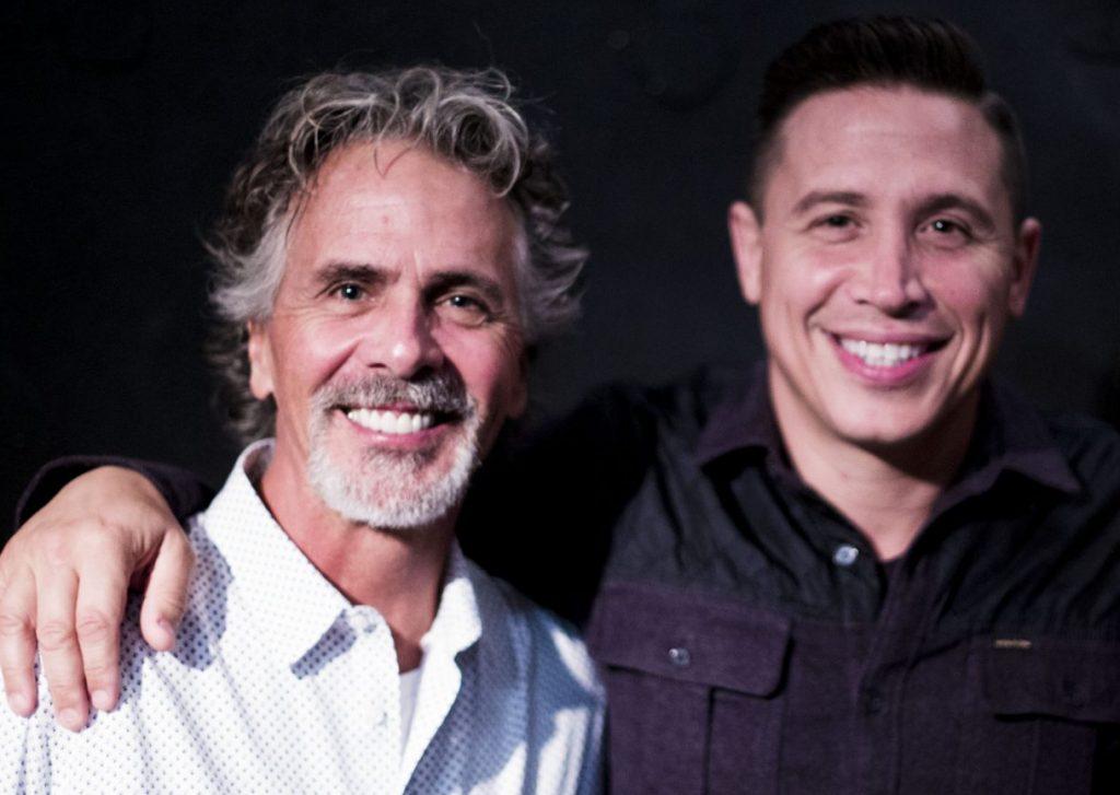 Jim Jarrett and Erik Palladino